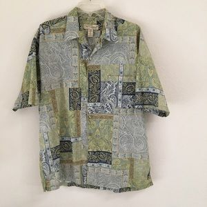Tori Richard authentic Hawaiian Paisley shirt L